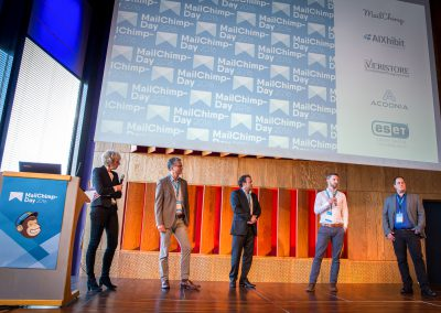 MailChimp-Day 2016: Podiumsdiskussion